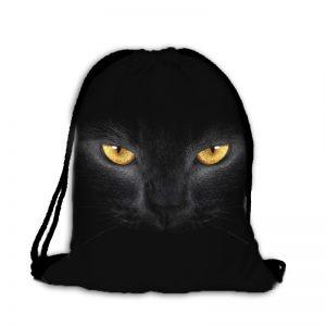Worek plecak kocie oczy