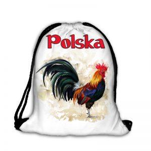 Plecak worek kogut Polska