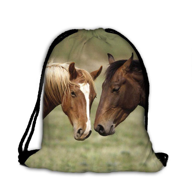 Plecak worek piękne konie