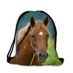 Worek plecak gniady koń
