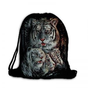 Worek plecak rodzina tygrysów