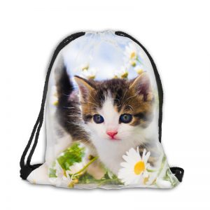 Worek plecak mały kotek 067