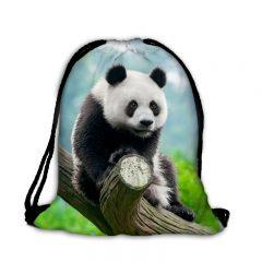 Worek plecak słodka panda