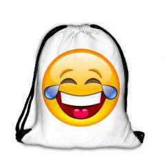 Worek plecak uśmiechnięta emotka