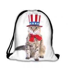 Worek plecak amerykański kot