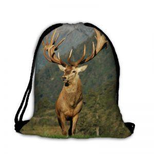 Plecak worek jeleń poroże